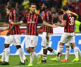 La chute économique du Milan AC. EFE/ Daniel Dal Zennaro