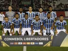 Prováveis escalações de Grêmio e Libertad. EFE/Archivo