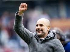 Pep Guardiola, mejor entrenador de la Premier en abril. EFE/Archivo