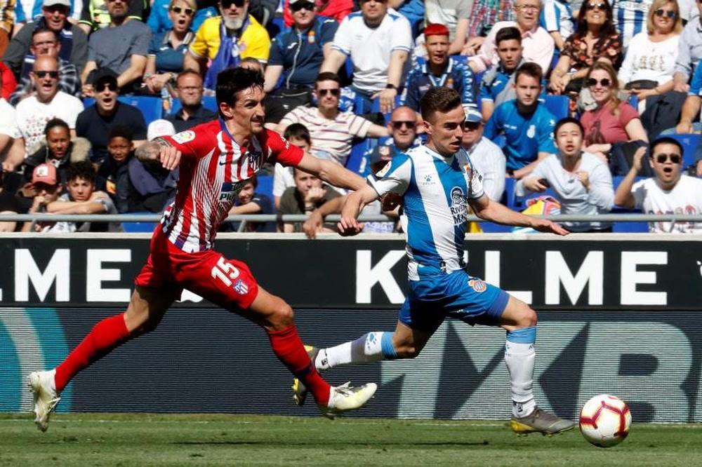 Espanyol - Atlético de Madrid: escalações confirmadas. AFP
