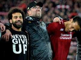 Klopp explique la réussite de son Liverpool. EFE