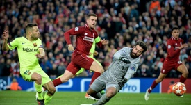 Alisson claims goalkeepers are not valued as highly as strikers. EFE