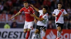 El uruguayo Nico López podría hacer las maletas a la Liga MX. EFE