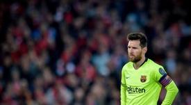 Van Gaal has laid into Messi. EFE