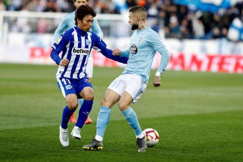 El Espanyol podría ser el próximo destino para Inui. EFE