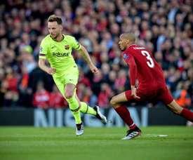 Fabinho, essentiel au milieu de terrain de Liverpool. EFE