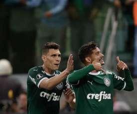 Palmeiras pasa a octavos como líder. EFE