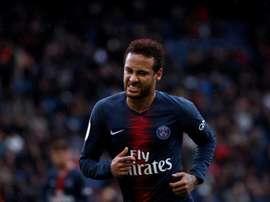 Neymar's ban does not start until Monday. EFE