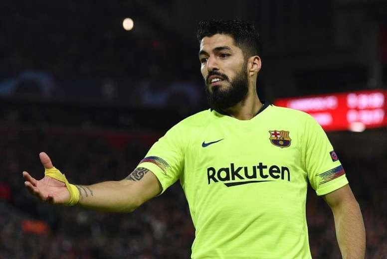 Luis Suárez tratará de acabar con su sequía en Dortmund. EFE