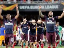 Grupo F: un Arsenal candidato al título ante Eintracht, Standard y Vitória. EFE
