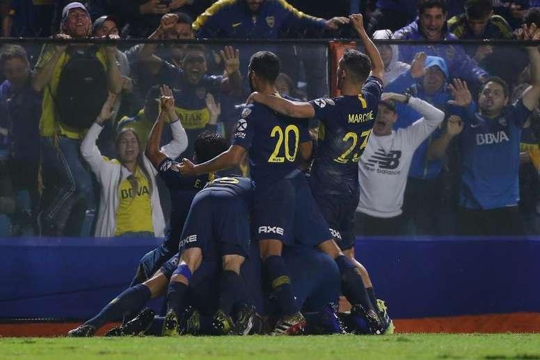 Boca-Tigre, final de la Copa de la Superliga. EFE/Archivo