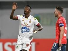 Tolima pone rumbo a la Sudamericana. EFE