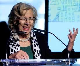 La alcaldesa de Madrid Manuela Carmena. EFE/Archivo