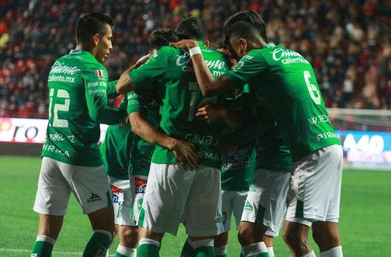 León se impuso por 0-1 al América. EFE/Archivo