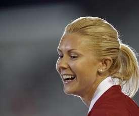 La atleta letona Ineta Radevica. EFE/Archivo