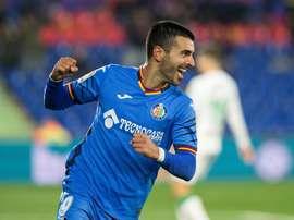 Ángel Rodríguez sigue con su excelente temporada en el Getafe. EFE