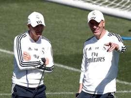 Zidane was clear about Llorente. EFE