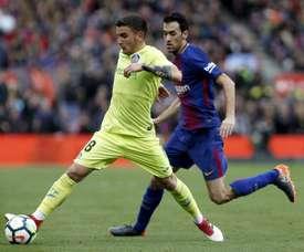 Mauro Arambarri est l'un des milieux de terrain les plus en vue en Liga. EFE
