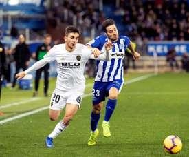 Ferran Torres pode abandonar o Mestalla. EFE