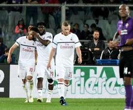 El Milan se aferra a la Champions. EFE