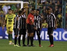 Botafogo ganó en el campo de Fluminense. EFE