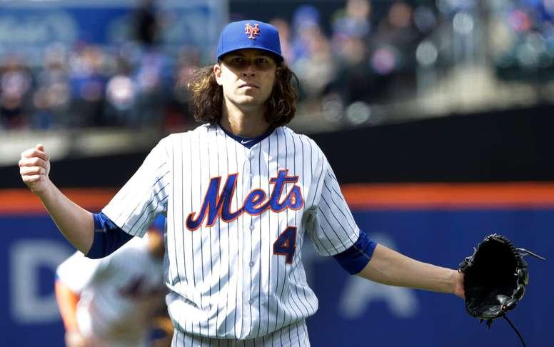 Jacob deGrom, jugador de los Mets de Nueva York. EFE/Archivo