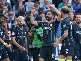 Gündogan, amoureux de Manchester City. EFE