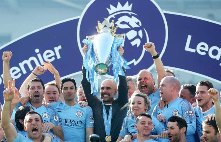 City could miss out on next year's Champions League. EFE