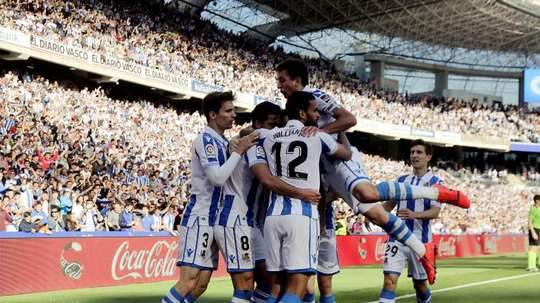 Real Sociedad will play Watford at the beginning of August. EFE