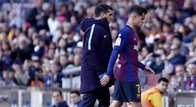 Amor confirmó la salida de Coutinho. Captura/LaCasadelFútbol