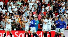 El formato de la Supercopa ha causado mucho malestar en el Valencia. EFE/Archivo