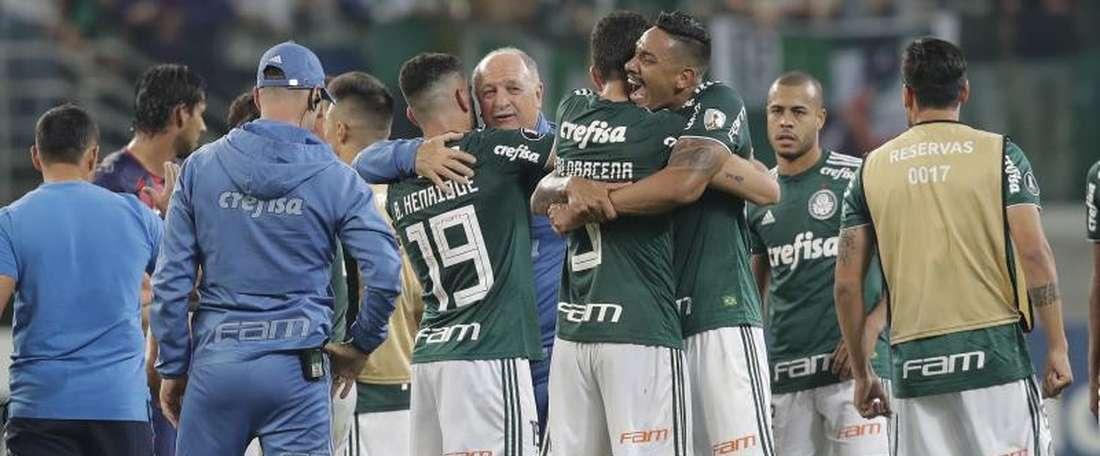 Palmeiras ya está en los cuartos de final. EFE/Archivo