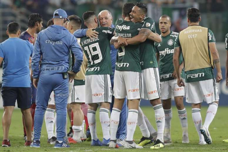 Palmeiras venció por 1-0 a Internacional. EFE