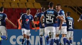 Amistoso confirmado entre Millonarios y Alajuelense. EFE/Archivo