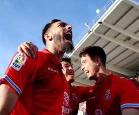 Borja Iglesias looks set to leave Espanyol this summer. EFE
