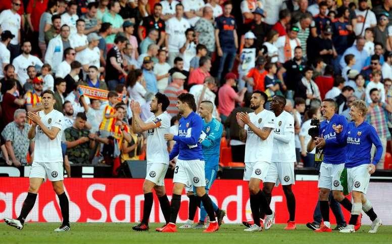 El Valencia irá a por un '9'. EFE