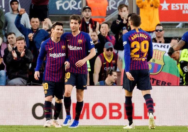El Barcelona menos goleador de los últimos 11 años. EFE