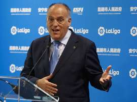 Tebas was heavily critical of the new Copa del Rey format. EFE/Archivo