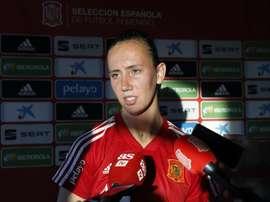 Torrecilla est une fan de Xavi et d'Iniesta. EFE