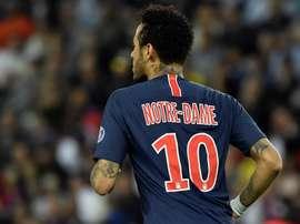Offre à la carte pour Neymar. EFE