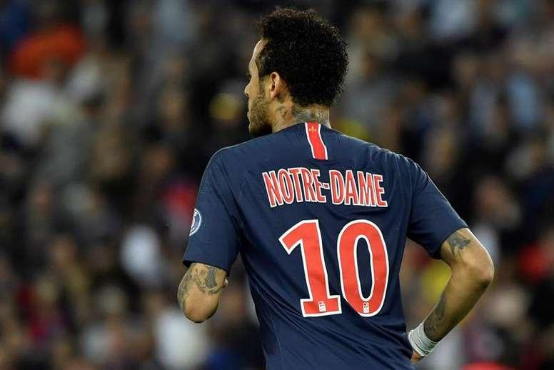 La raison pour laquelle le Real ne veut pas de l'option Neymar. EFE