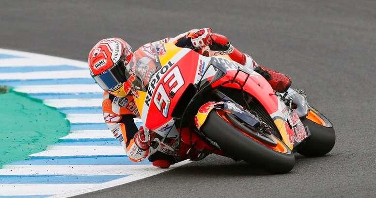 El piloto español de MotoGP Marc Márquez (Repsol Honda Team). EFE/Archivo