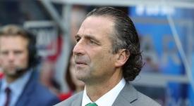 Juan Antonio Pizzi ultima la gestión de la plantilla de cara al segundo semestre de competición. EFE