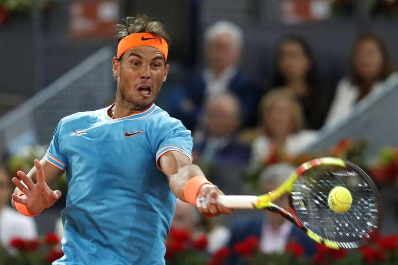El tenista español Rafa Nadal, la semana pasada en Madrid. EFE