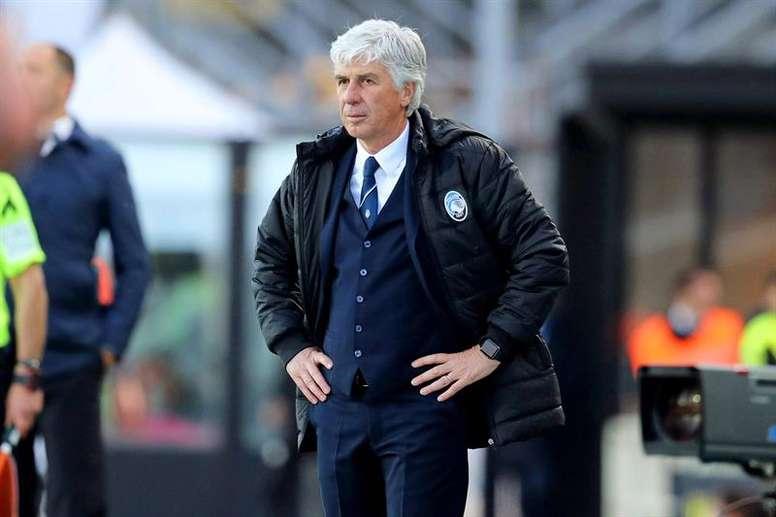 Gasperini rechaza la etiqueta de favorito; Inzaghi, a ganar la Coppa en su estadio. AFP
