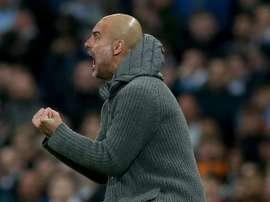 Guardiola vence e livra o United das rondas prévias da Europa League. EFE