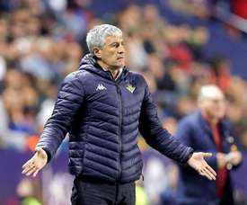Quique Setién is being considered for the Shakhtar Donetsk job. EFE