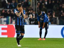 Atalanta were furious with the VAR in their defeat to Lazio. EFE