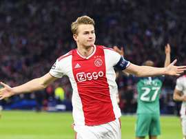 De Ligt still does not know his future club. EFE/Archivo
