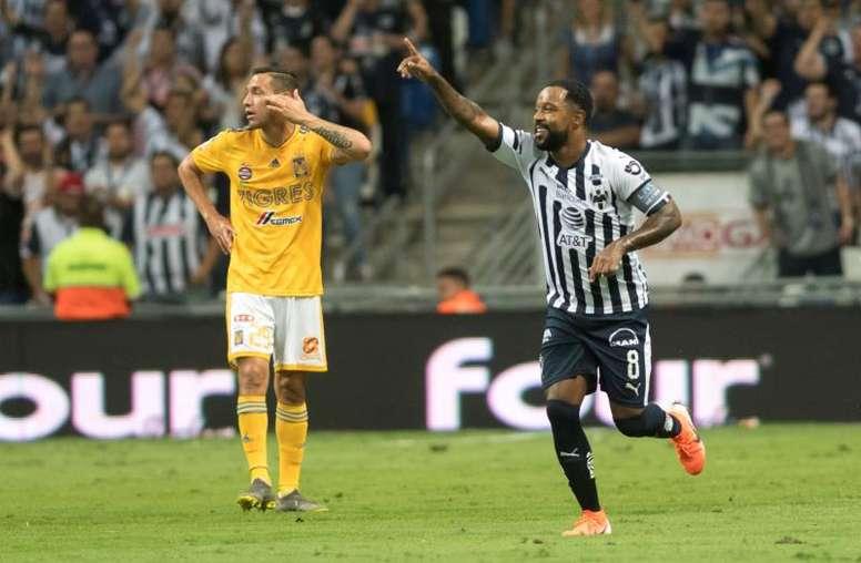 Pabón, el goleador de la noche. EFE